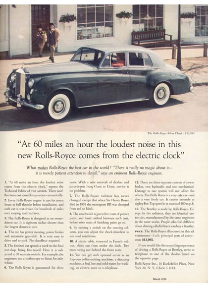 Image - Rolls Royce - Long copy ad